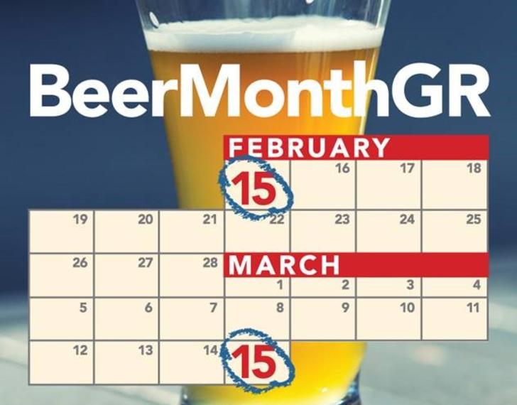 Beer Month GR logo