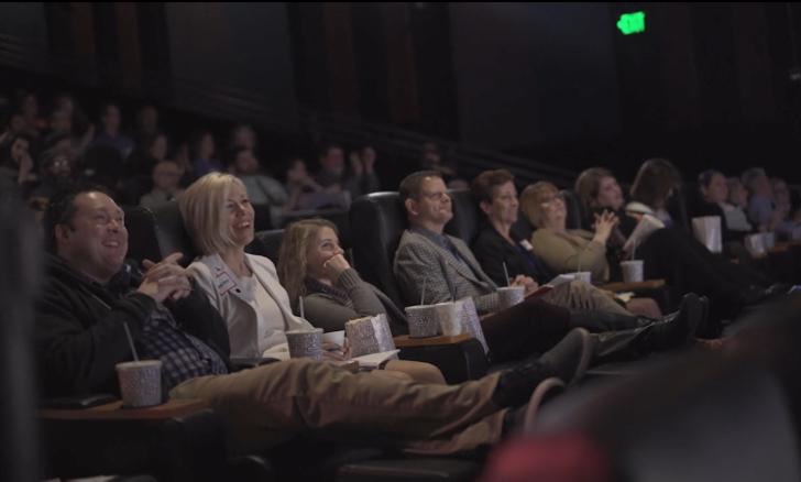 Audience enjoying a movie at Celebration! Cinemas in Grand Rapids