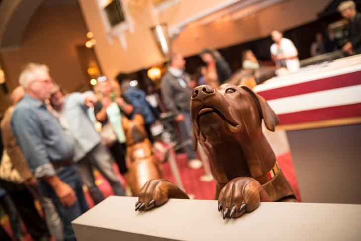 ArtPrize 2016 Wounded Warrior Dogs piece by James Mellick