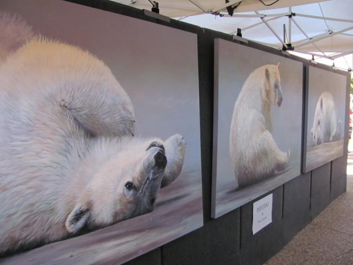 Polar Expressed piece by Anni Couter at ArtPrize 2013