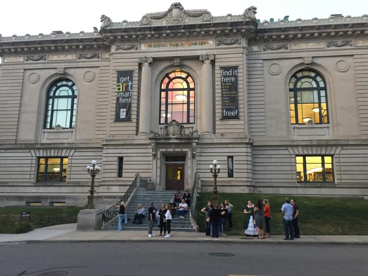 Ghosts of Grand Rapids tour beginning at the Grand Rapids Public Library