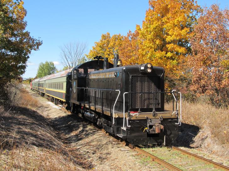 Coopersville & Marne Railway Pumpkin Train