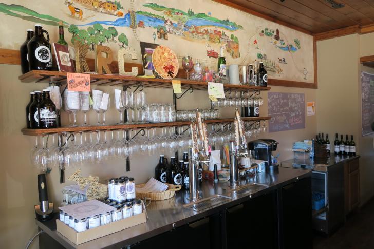 Winebar at Kayla Rae Cellars in Rockford, Michigan