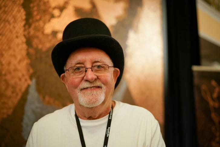 Richard Schlatter - winner of ArtPrize 2017