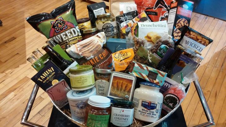 Grand Rapids' Art of the Table gift baskets