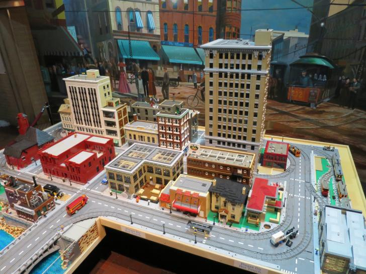 Grand Rapids Public Museum Lego Exhibit