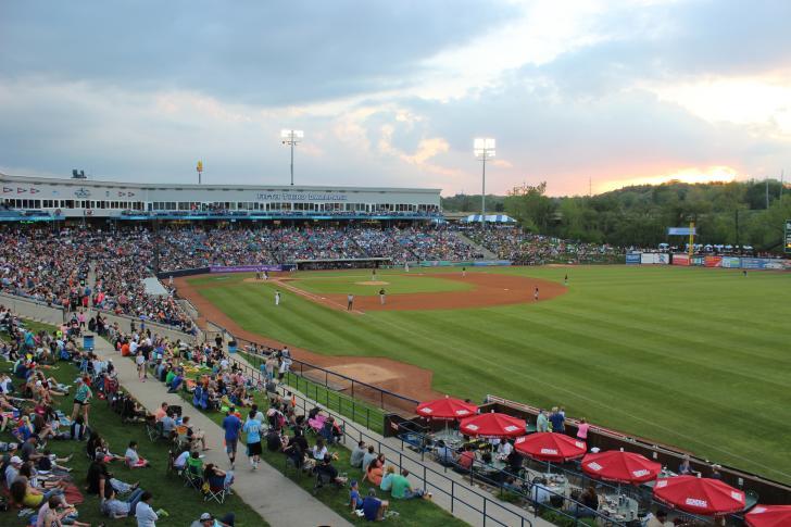 Fifth Third Ballpark during Whitecaps game