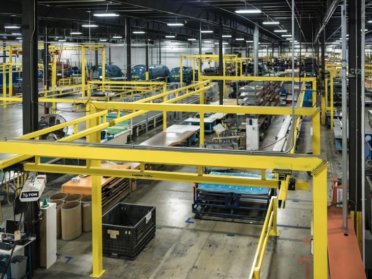 Inside Plasan Carbon Composites in West Michigan