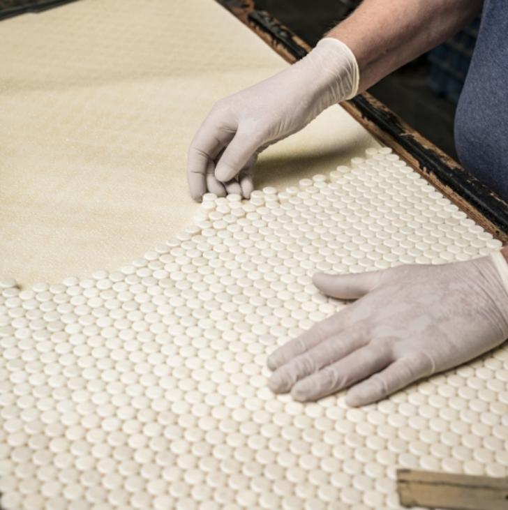 Worker in Plasan Carbon Composites