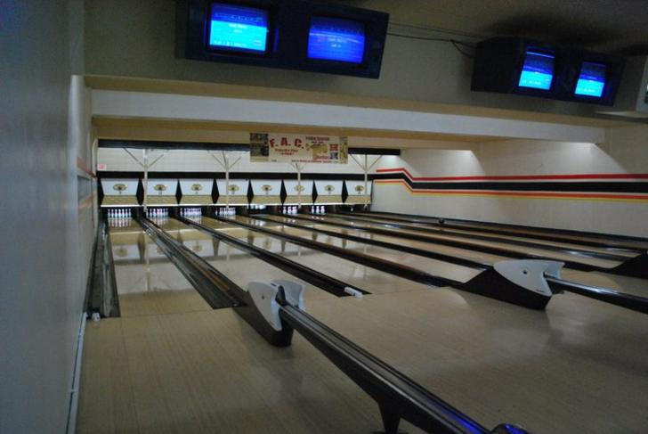 Wenger's Bowling Second Floor lanes in Grand Rapids