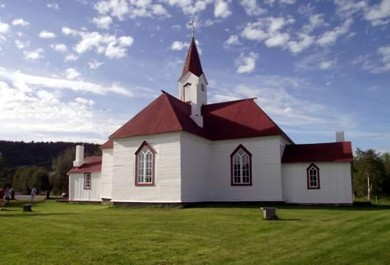 Karasjok gamle kirke