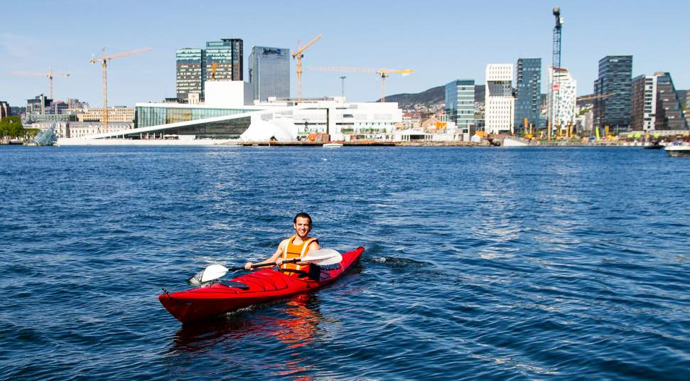 Friluftshuset: outdoor activity centre