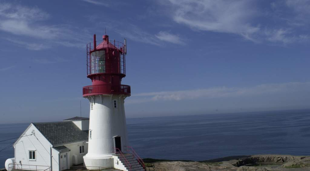 Lindesnes Lighthouse - Norway lighthouses map