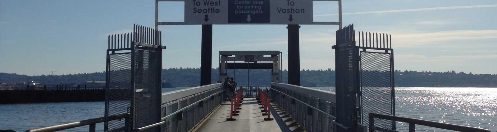 King County Water Taxi - Vashon Island