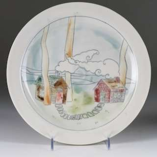 Plates and Mugs: Focusing On Surface and Form With Laurie Caffery Harris