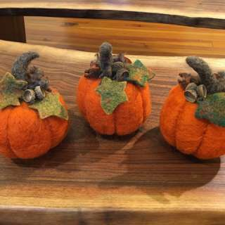 Fall Themed Needle Felting with Karen Kennedy