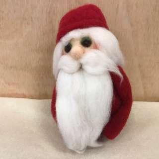 Art & Craft Workshop: Needle Felted Santa
