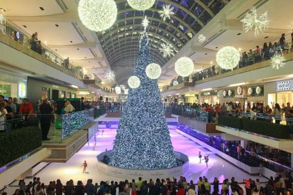 The Galleria's 30th Annual Ice Spectacular and Tree Lighting