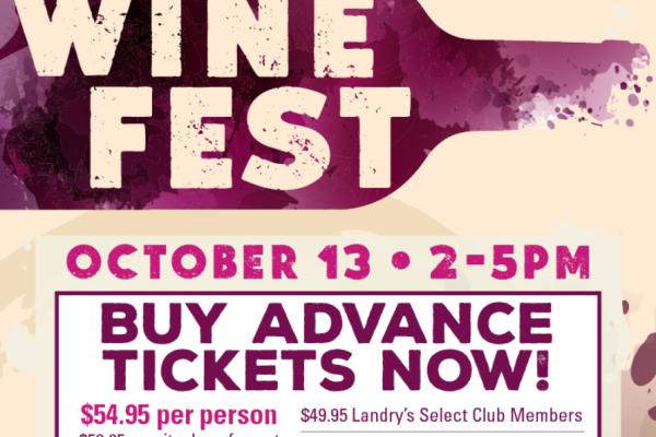 Wine Festival at the Kemah Boardwalk