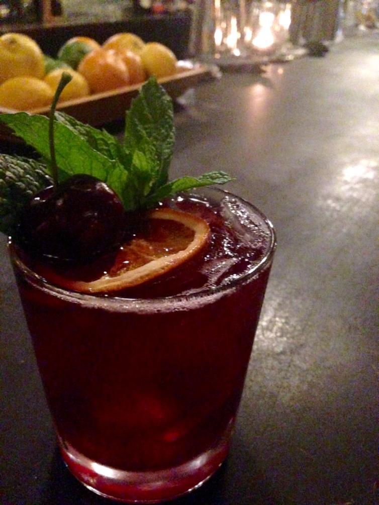 Red Wine Cherry Sangria