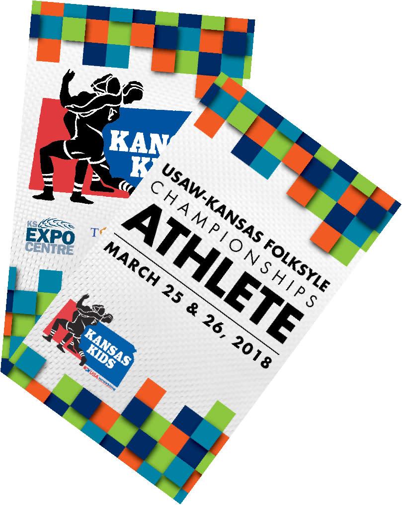 Kansas kids badge display for convention badge
