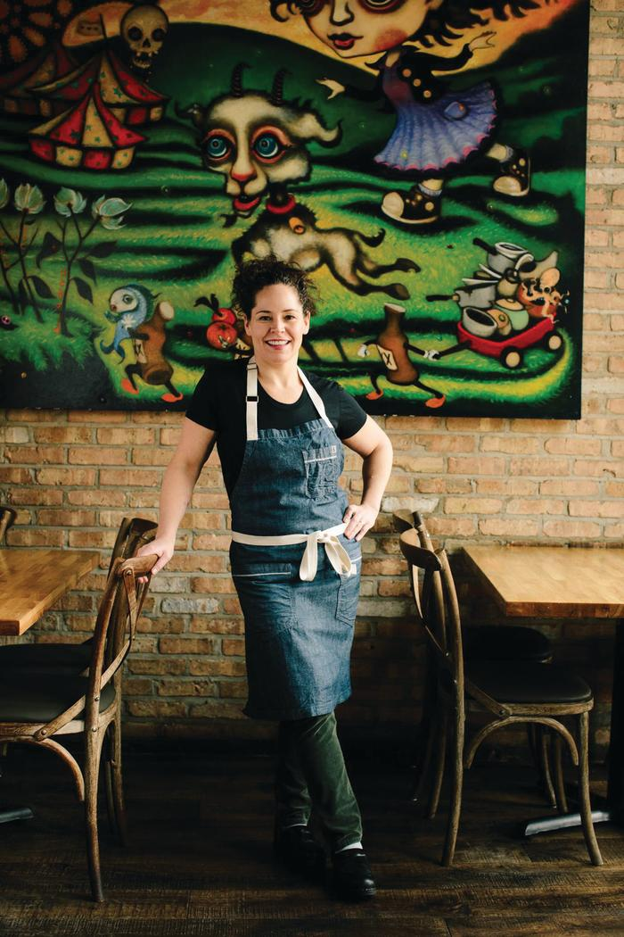 Stephanie Izard, Girl and the Goat