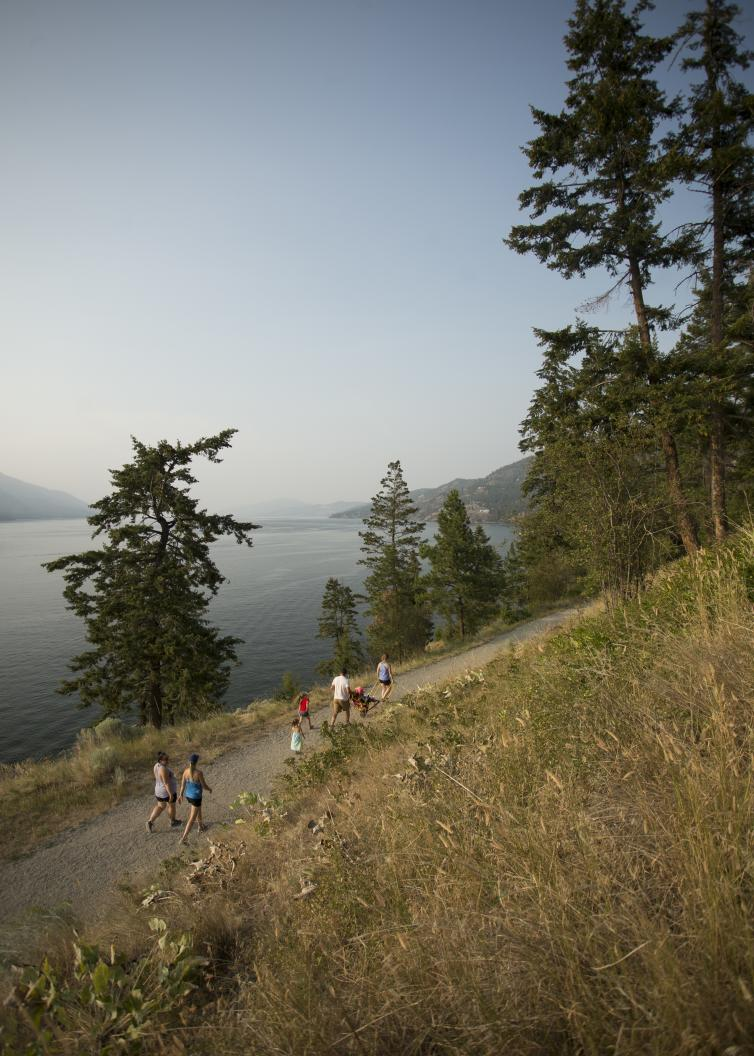 Hiking Knox Mountain with CRIS
