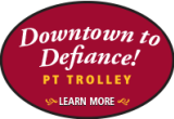 Downtown to Defiance trolley