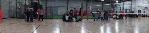 Team Building at the Eau Claire Sport Warehouse