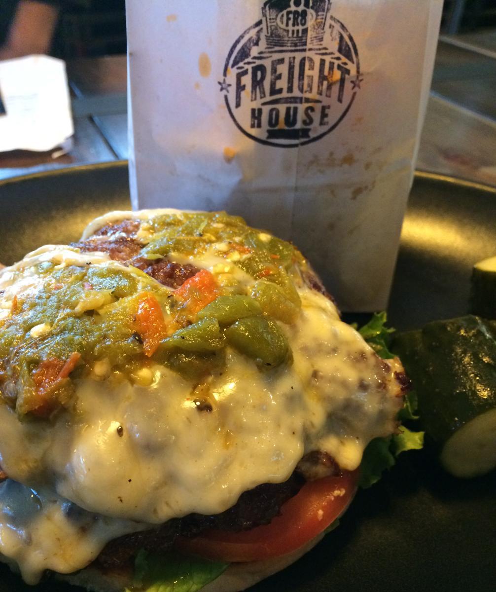 Green Chile Cheeseburger Smackdown Social Media Crawl Freight House