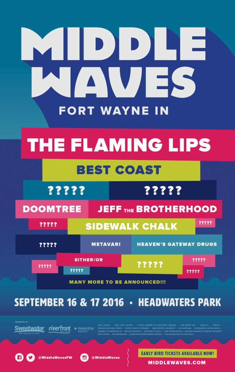 Middle Waves Poster