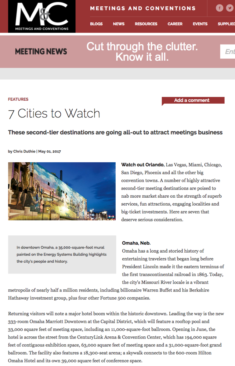 7 Cities to Watch