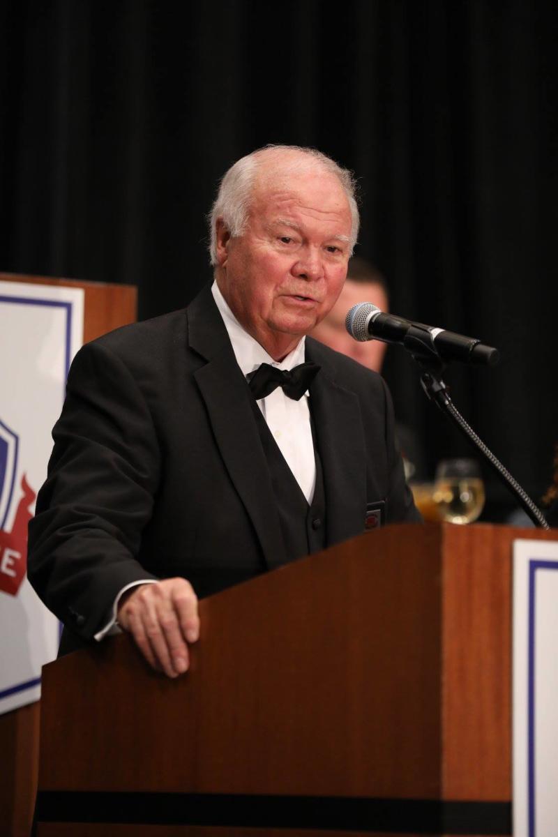 Don Fish, executive director of NCSHOF