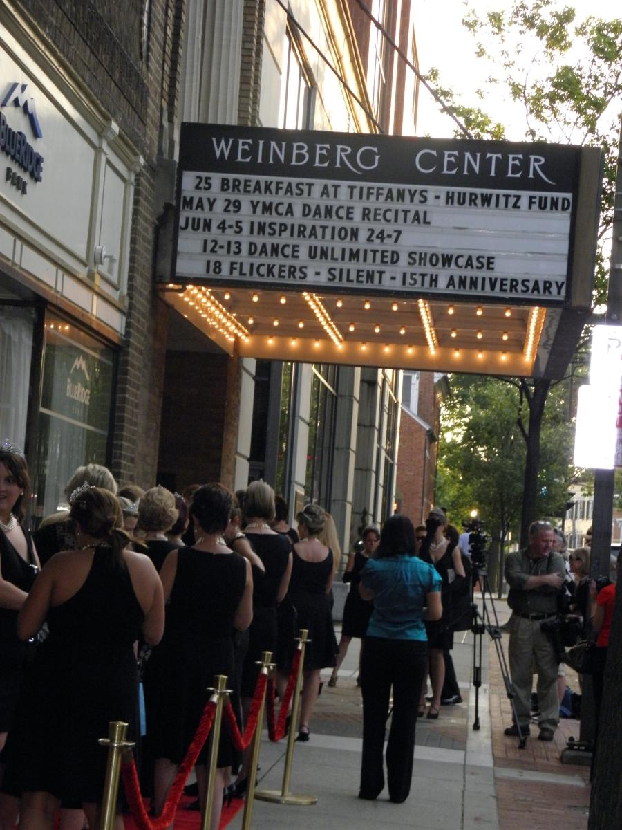 Marquee at the Weinberg Center Line