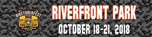Riverfront Park - Banner Ad Biketoberfest