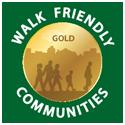 Walk Friendly Communities Badge - Gold level