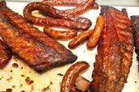 Ribs from Gatlin's BBQ in Houston
