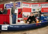 Three paddlesports safety presentations have been added to the in-water demonstrations at the February 13-17, 2013 Central New York Boat Show at the NYS Fairgrounds.
