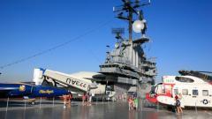 Long Island Rail Road Getaway-  Intrepid Sea, Air & Space Museum