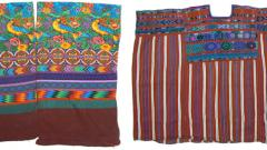 Maya Textiles and 3D Collage Exhibits