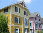 """Painted Ladies"" in Chautauqua's new Garden District"