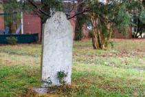 Vitamin O gravestone Shetley story