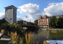 ERIE CANAL IN FAIRPORT BY KATHY EICHORN, 2013 CONTEST WINNER
