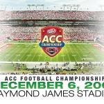 Tampa Bay Area Events: ACC Football Championship