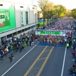 Eugene Marathon Start Line (Photo by Pure Blue Design)