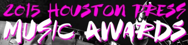 Houston Press Music Awards 2015 Logo