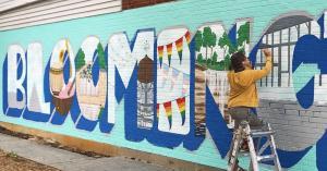 bloomington mural