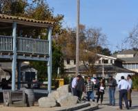 Custom House Plaza Flagpole