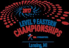 2017 Junior Olympic Level 9 Eastern National Gymnastics Championships logo