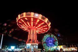 WA State Fair rides
